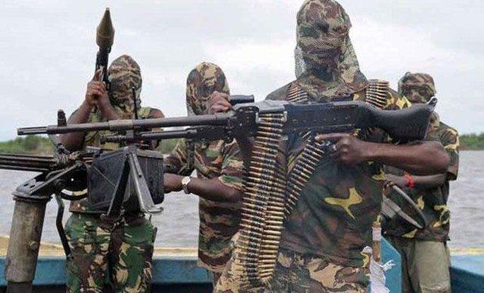 Các chiến binh Hồi giáo Boko Haram. Ảnh: AP
