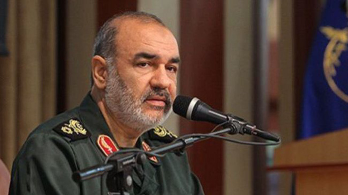 Tướng Iran Hossein Salami. Ảnh: Global Search
