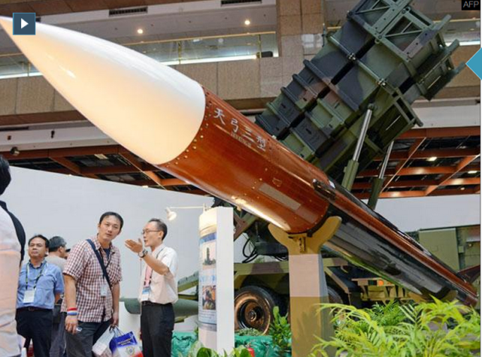 Một tên lửa trong hệ thống Tien Kung III của Đài Loan. Ảnh: India Times