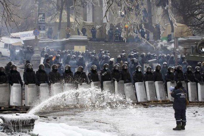 Cuộc hội đàm Ukraine đạt được những thỏa thuận bước đầu nhưng tình hình căng thẳng vẫn tiếp diễn. Ảnh: Reuters