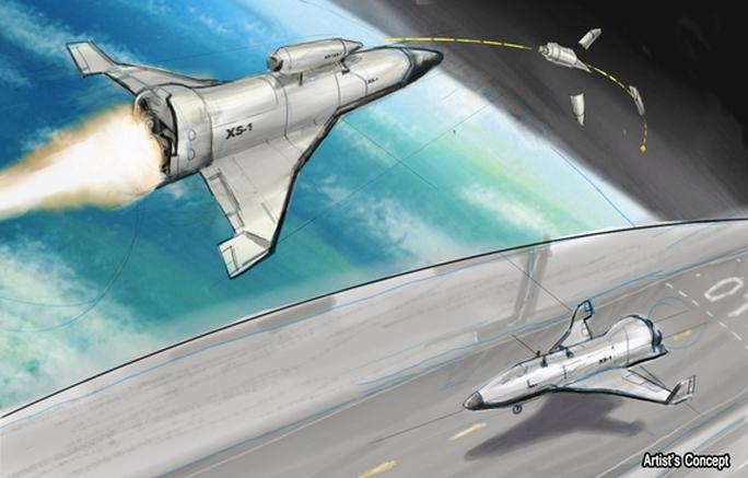 Mô hình UAV siêu thanh trong không gian của Mỹ. Ảnh: Space.com