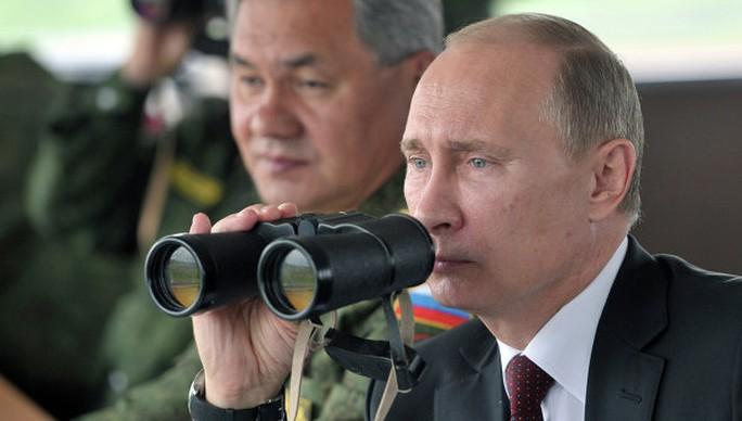 Tổng thống Nga Vladimir Putin hôm 11-9 ra lệnh cho lực lượng quân đội ở phía Đông đất nước chuẩn bị diễn tập. Ảnh: RIA Novosti