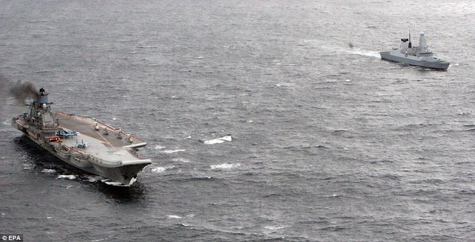 Watching: HMS Dragon, a Type 45 destroyer and one of the Royal Navys most technically advanced warships, was able to pinpoint and monitor the movement of the seven-strong group as it approached the UK
