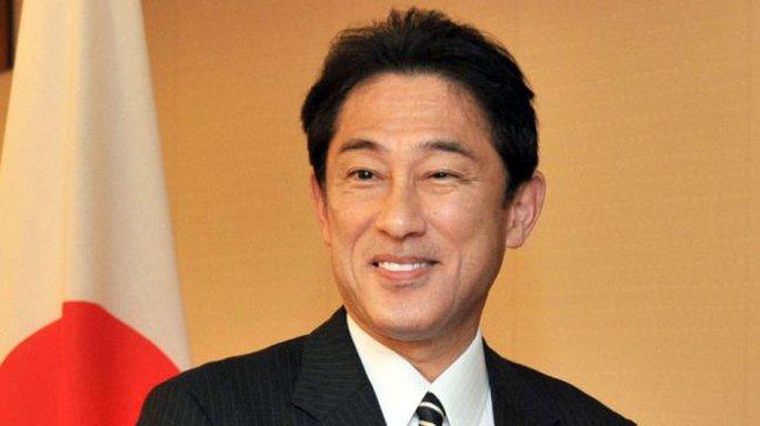 Ngoại trưởng Nhật Bản Fumio Kishida. Ảnh: Press TV