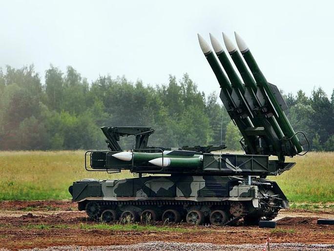 Hệ thống tên lửa Buk. Ảnh: Daily Telegraph