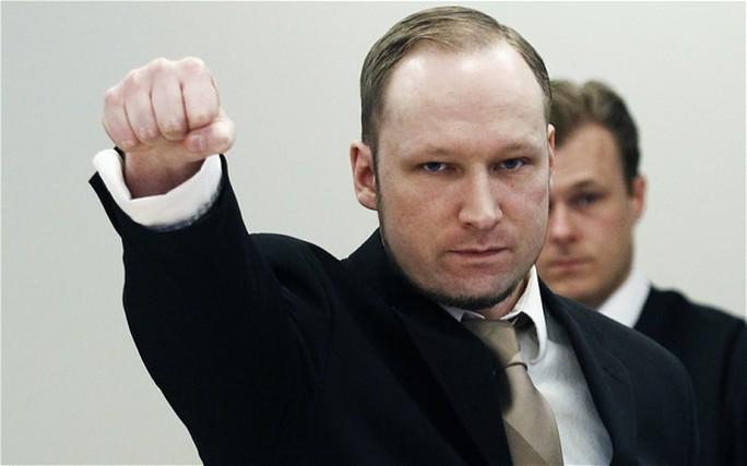 Kẻ giết người hàng loạt Anders Behring Breivik. Ảnh: Reuters