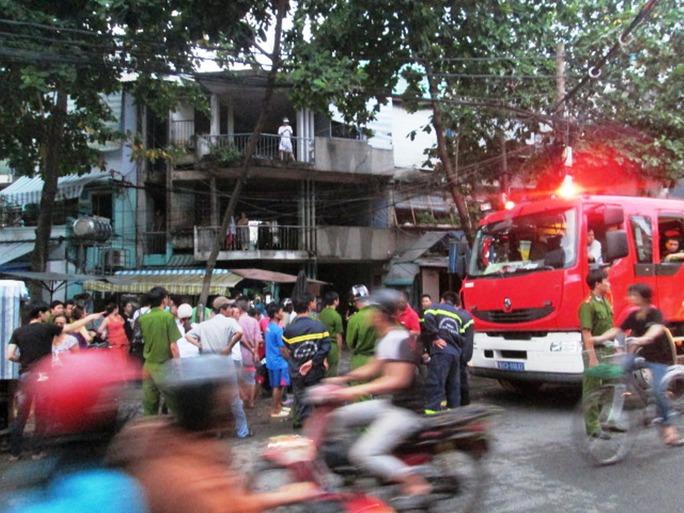 Chung cư, nơi xảy ra vụ cháy