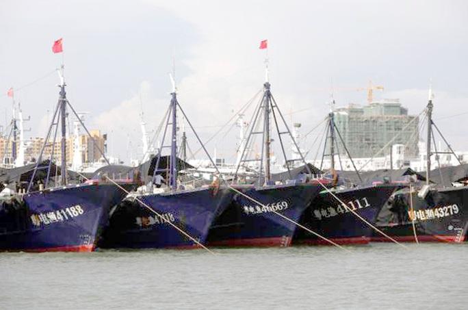 Tại Hải Nam, chính phủ sẽ hỗ trợ các chủ tàu cá tới 90% chi phí gắn hệ thống định vị vệ tinh Bắc Đẩu. Ảnh: Reuters
