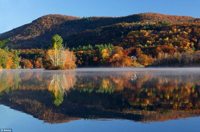 Núi Okemo, bang Vermont - Mỹ.
