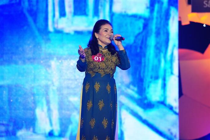 Cụ bà Nguyễn Thị Thanh Hà, người nhất bảng A
