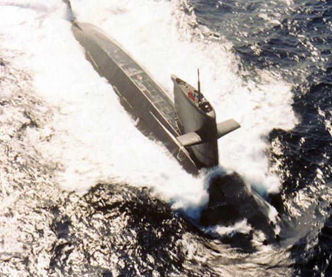 Tàu ngầm Hai-lang do Hà Lan đóng và Đài Loan mua về vào những năm 1980. Ảnh: ROC Photo