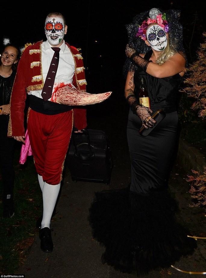 Rufus Hound và vợBeth Johnson