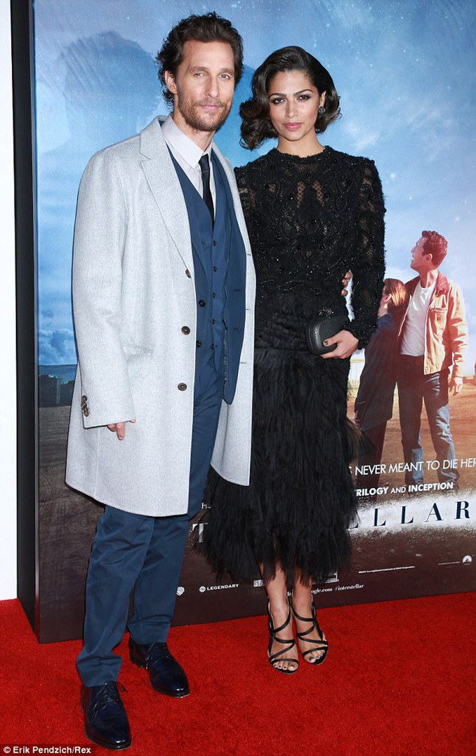 Vợ chồng Matthew McConaughey