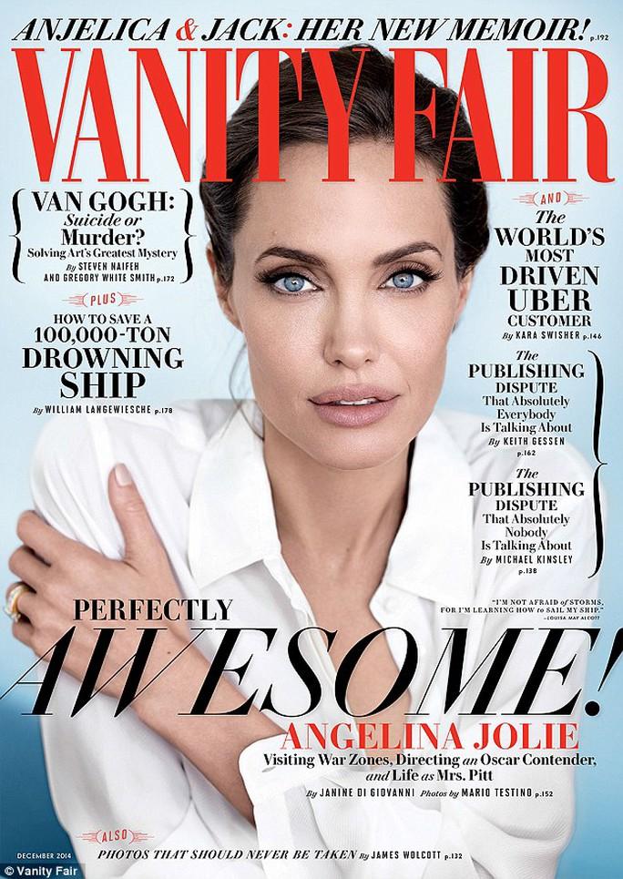 Angelina Jolie thừa nhận thật tuyệt khi kết hôn