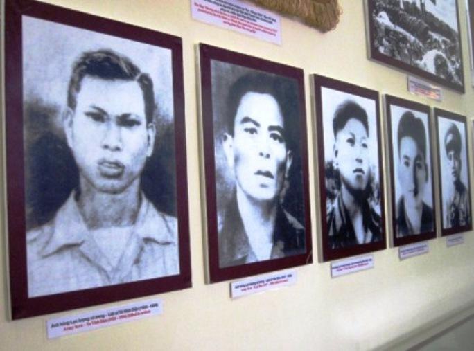 Những người con Thanh Hóa anh dũng hi sinh trong chiến thắng Điện Biên Phủ. Trong đó có người anh hùng Tô Vĩnh Diện - người đã lấy thân mình chèn bánh pháo.