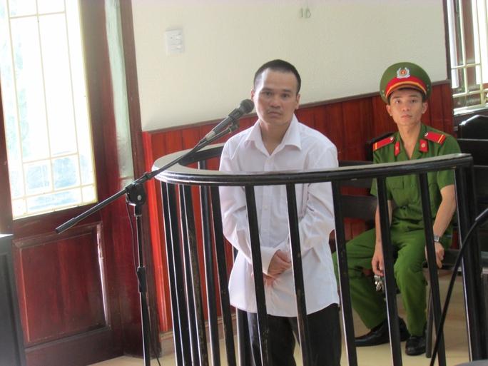Trần Quốc Trọng tại phiên tòa