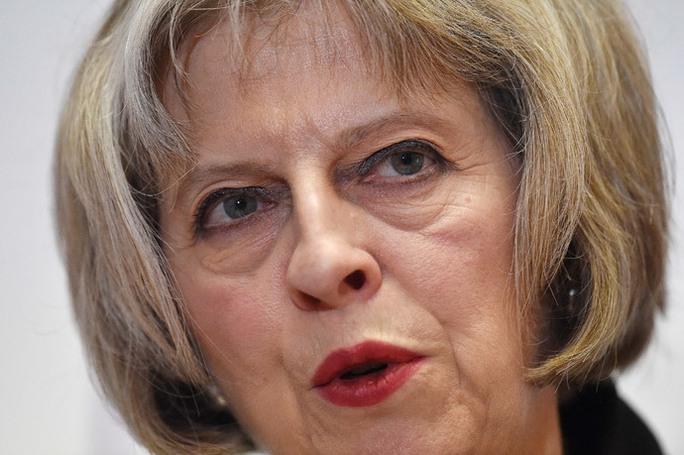 Bộ trưởng Nội vụ Anh Theresa May. Ảnh: Reuters