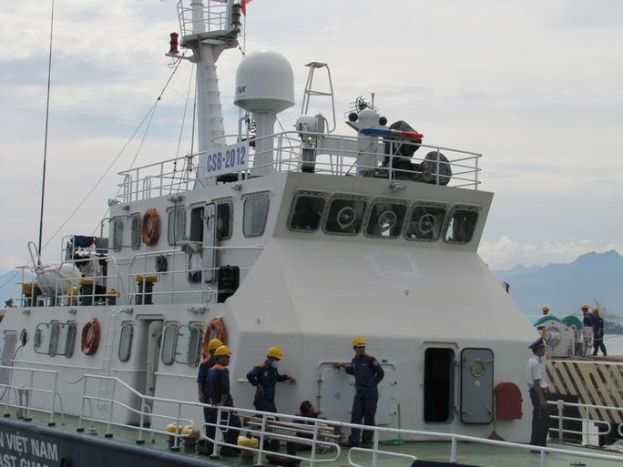 Tàu 2012 cơ bản đã được sửa chữa xong