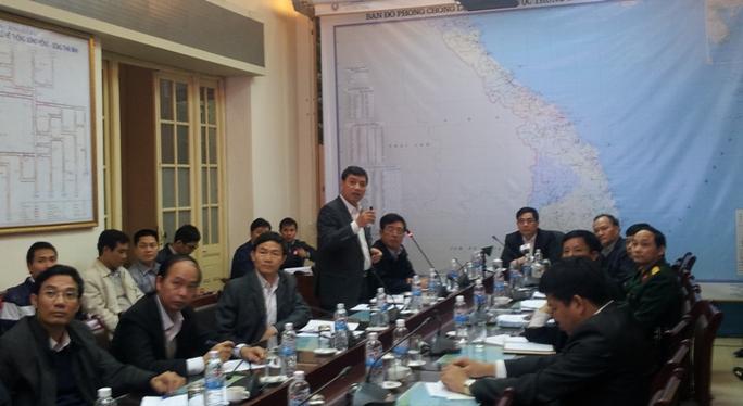 Ban chỉ đạo phòng chống lụt bão Trung ương họp bàn biện pháp đối phó với cơn bão Hagupit
