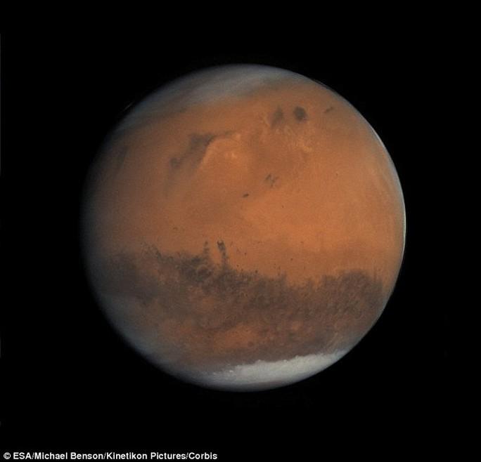 Nhiều bằng chứng đầu tiên của cơ thể sống bên ngoài trái đất ở sao Hỏa