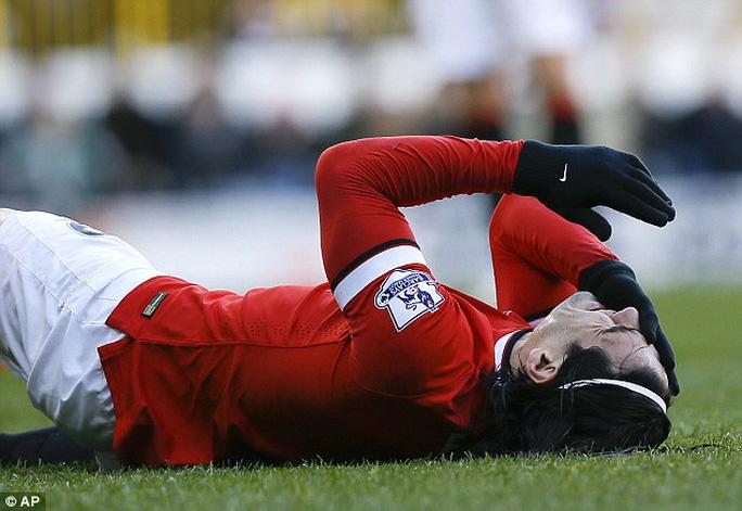 Tiền đạo Falcao trận trước chơi hay bao nhiều thì trận này lại gây thất vọng bấy nhiêu