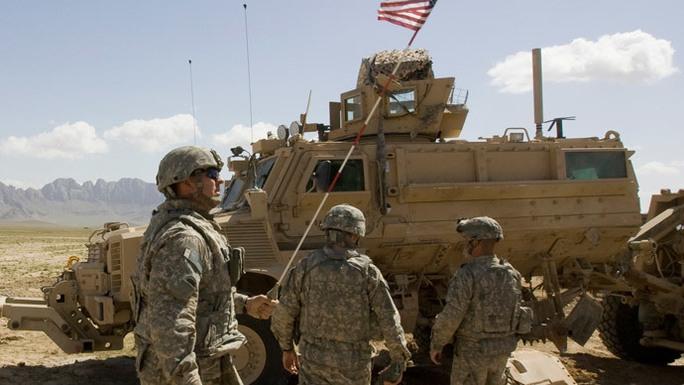 Quân đội Mỹ tại Afghanistan. Ảnh: Reuters