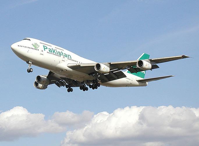 Một máy bay của hãng hàng không Pakistan International Airlines. Ảnh: Wikipedia