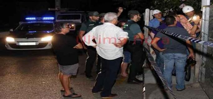 Cảnh sát và nhân viên cứu hộ được điều tới hiện trường. Ảnh: Twitter