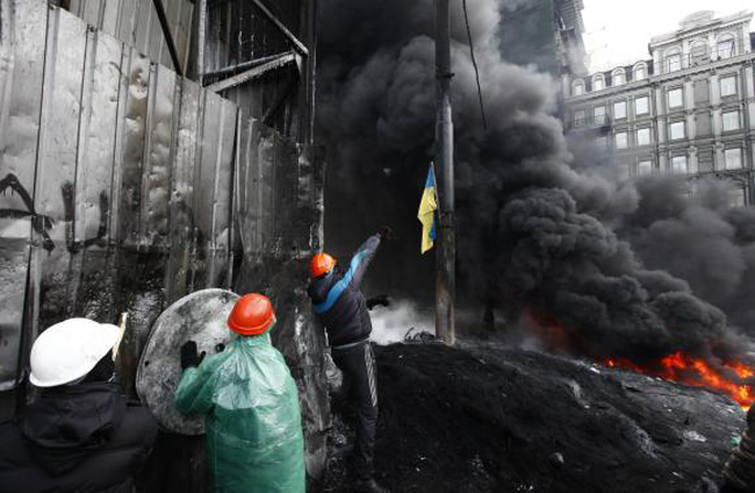 Bất ổn liên tục leo thang tại Kiev những tuần qua. Ảnh: Reuters