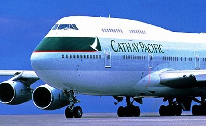 Một chiếc máy bay của hãng Cathay Pacific. Ảnh: iafrica.com