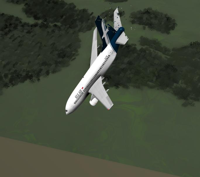 Chiếc máy bay SilkAir 185. Ảnh: Wikipedia
