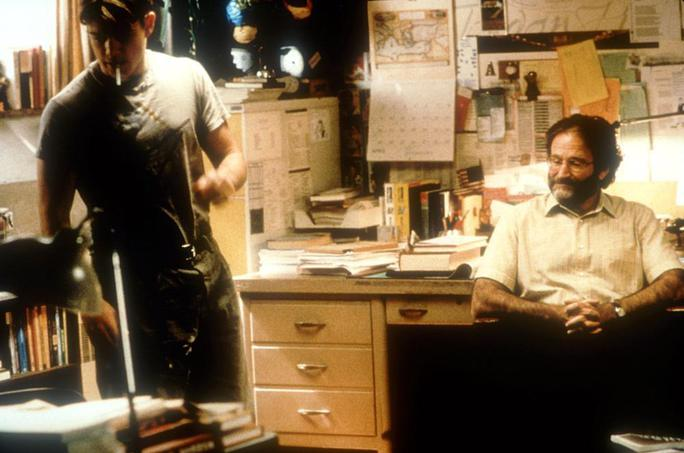 Robin Williams vai Sean Maguire trong phim Good Will Hunting