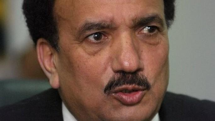 Cựu Bộ trưởng Nội vụ Pakistan Rehman Malik