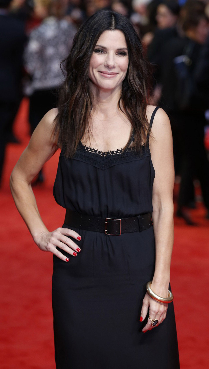 Nữ diễn viên Sandra Bullock. Ảnh: Reuters
