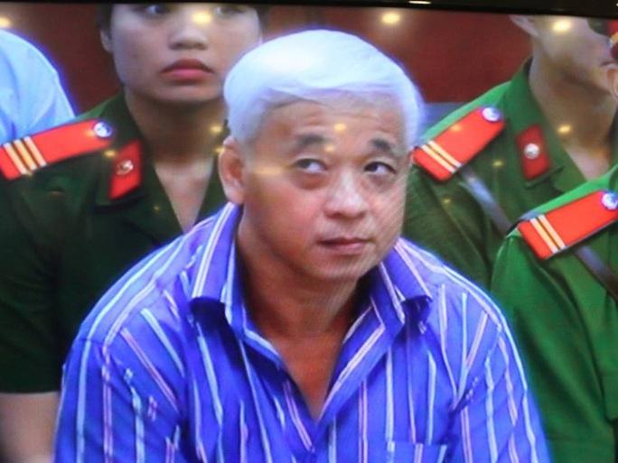Phiên tòa xét xử vụ án Nguyễn Đức Kiên và đồng phạm đã được hoãn - Ảnh chụp qua màn hình