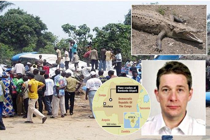 Cá sấu bị tố là nguyên nhân gây tai nạn máy bay khiến phi công và 18 hành khách thiệt mạng