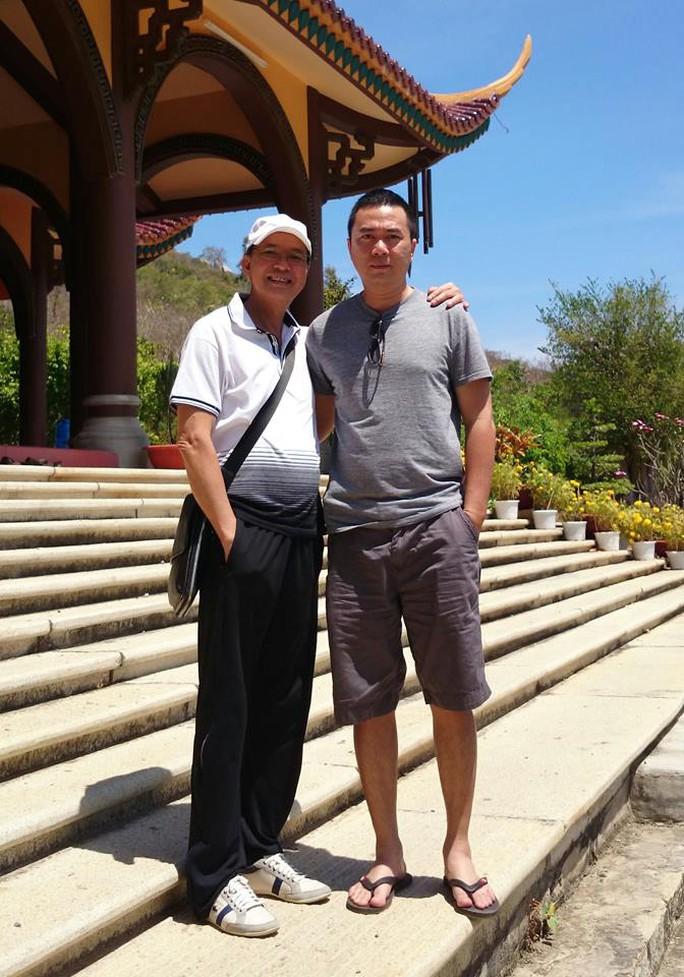 NSƯT Thanh Điền và con trai