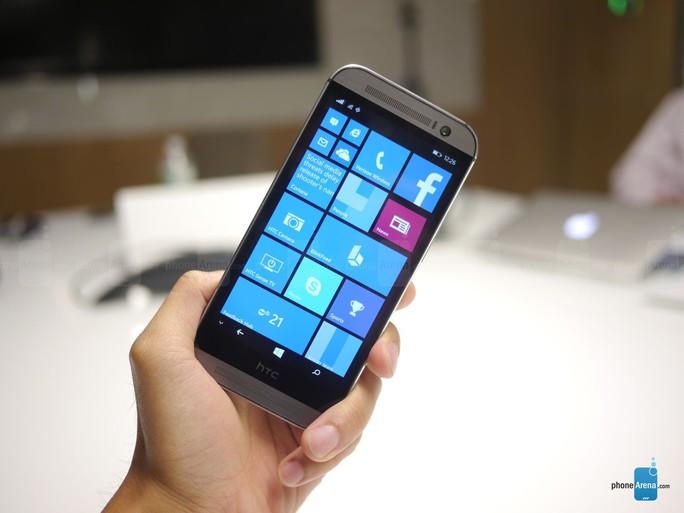 HTC One M8 chạy Windows Phone ra mắt