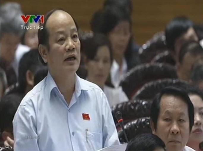 ĐB Huỳnh Nghĩa (Đà Nẵng): Đề nghị Bộ trưởng cho biết Chính phủ có phải đứng ra để trả nợ thay cho 2 tập đoàn Vinashin và Vinalines hay không