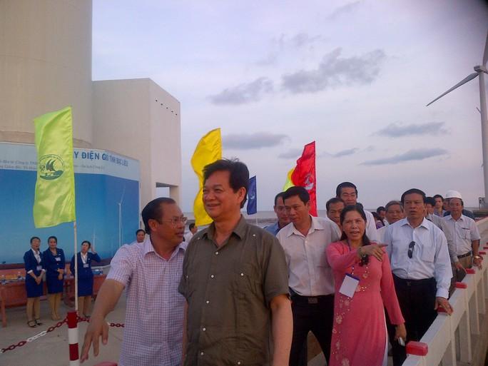 Thủ tướng chính phủ đến thăm Nhà máy Điện gió Bạc Liêu chiều nay