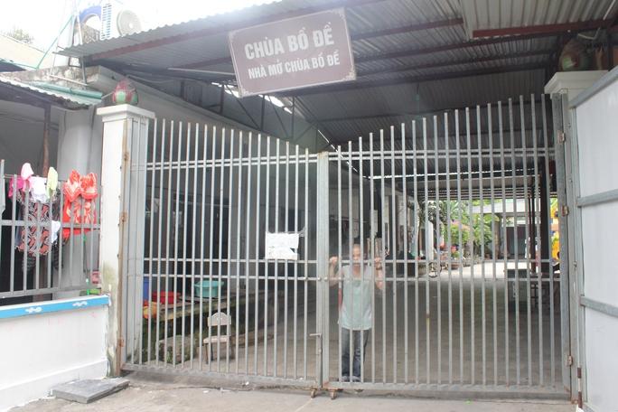 Khu nuôi trẻ bị bỏ rơi ở chùa Bồ Đề khoá cửa, không cho phóng viên tiếp xúc từ sáng 4-8