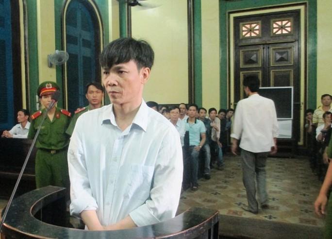 Bị cáo Nguyễn Xuân Thủy tại TAND TP HCM vào sáng 4-8.