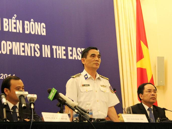 Ông Ngô Ngọc Thu bác bỏ việc Trung Quốc vu cáo Việt Nam thả người nhái cản trở tàu Trung Quốc