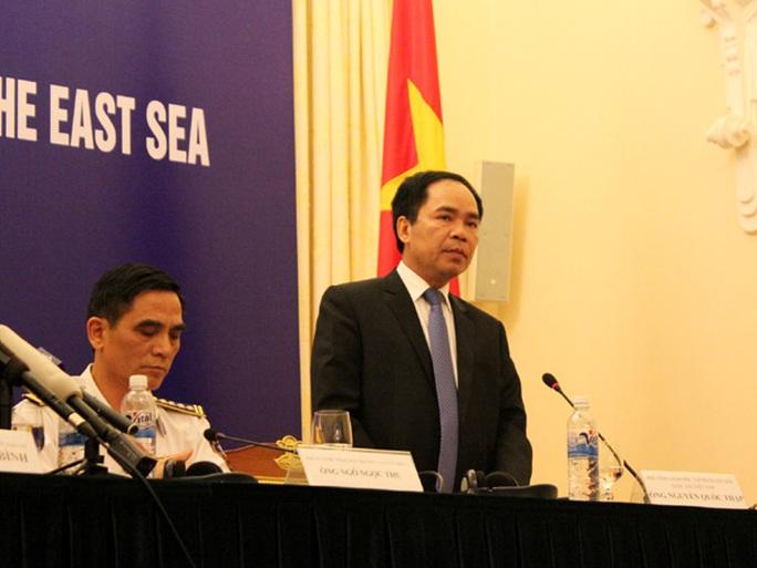 Ông Nguyễn Quốc Thập phản đối Trung Quốc thăm dò, khai thác dầu khí trong vùng biển của Việt Nam
