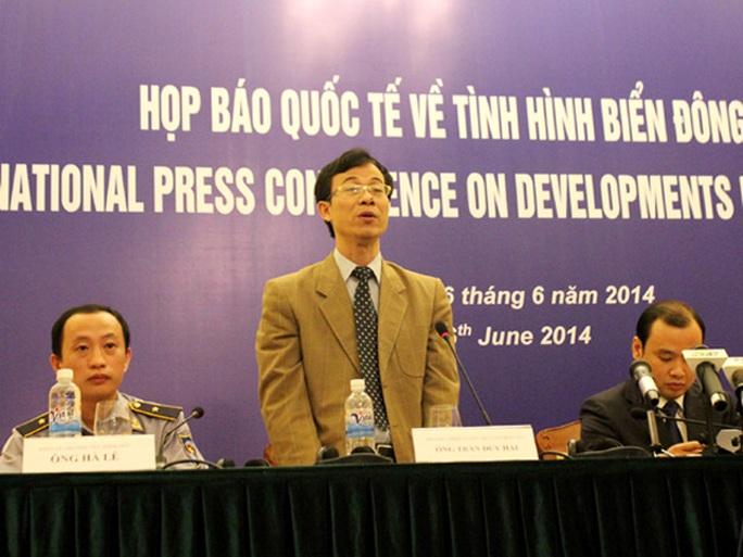 Ông Trần Duy Hải bác bỏ yêu sách của Trung Quốc với quần đảo Hoàng Sa của Việt Nam