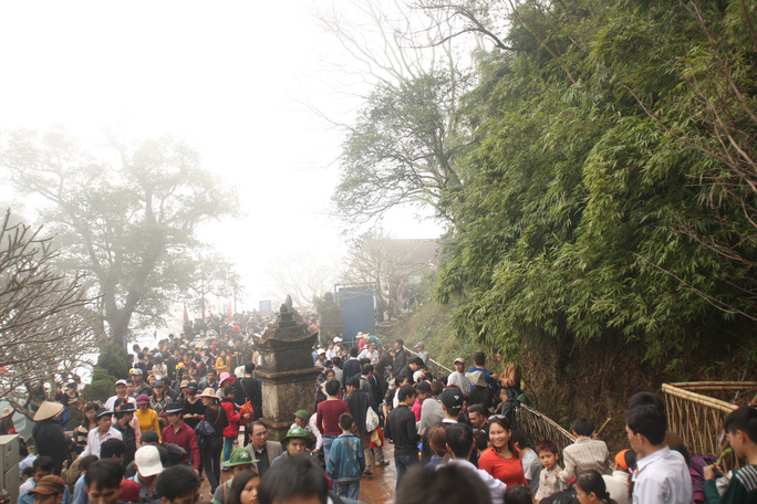 Khu danh thắng Yên Tử là nơi vua Trần Nhân Tông tu tập và hoá Phật