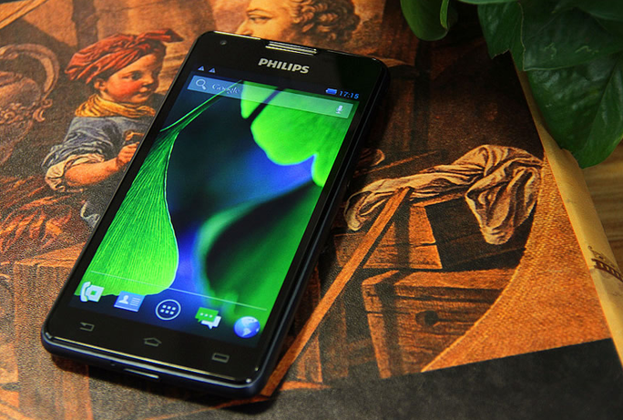 Philips tung smartphone chờ đến 66 ngày