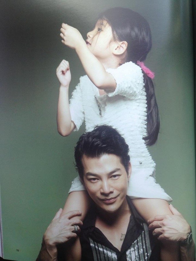 Bảo Sơn và con gái Bảo Tiên