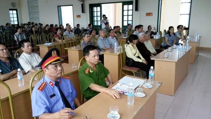 Xin lỗi công khai gây bản án oan sai cho ông Vũ Thanh Hải tại trụ sở UBND phường Kỳ Bá