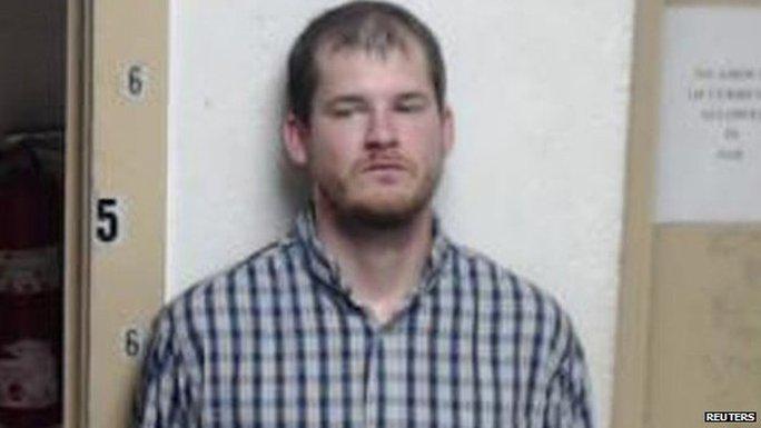 Nghi phạm Timothy Ray Jones, 32 tuổi. Ảnh: Reuters